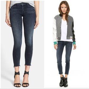 Mother Denim The Looker Skinny Fray Skinny Jeans